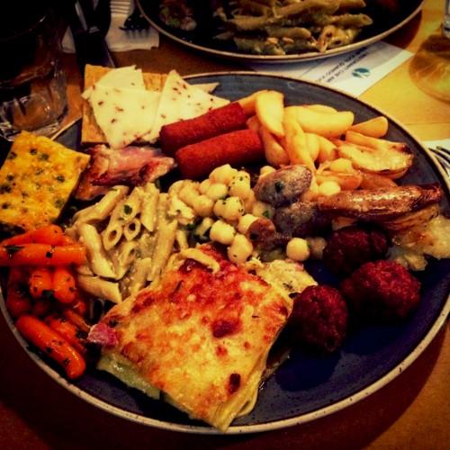 pranzo a buffet da porto famelica food blog famelica food blogger ristorante porto roma