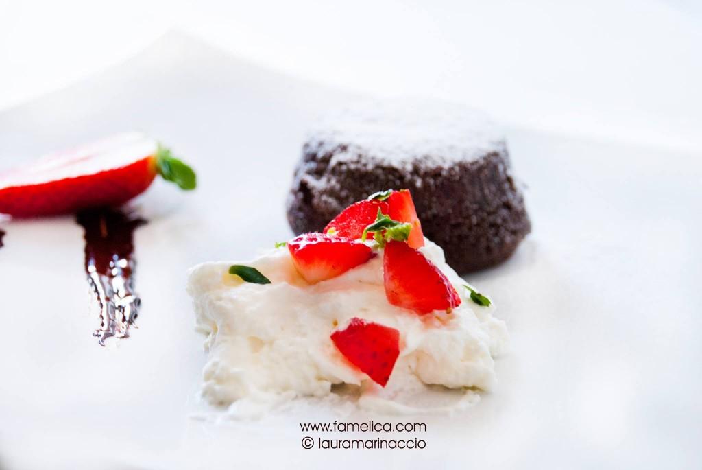 Ricetta tortino al cioccolato con cuore morbido - foto di lauramarinaccio