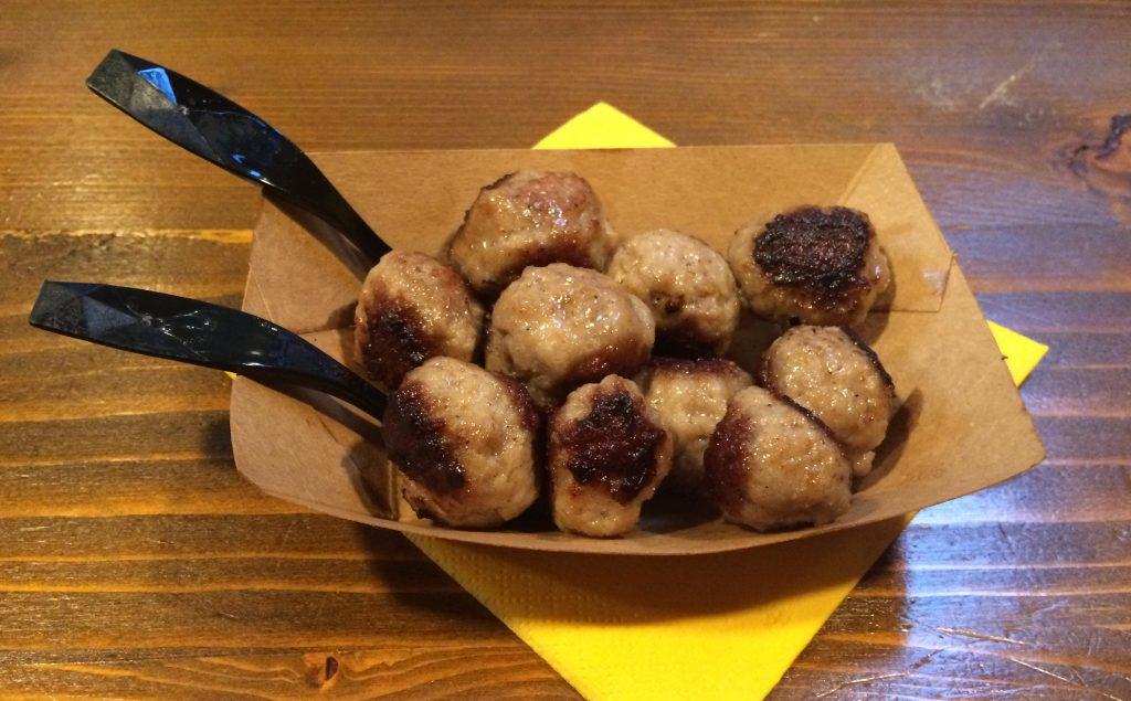 polpettine porknroll settimana della filiera certa famelica